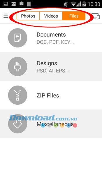 Sunshine für Android 1.4.0047 - Große Dateifreigabe für Android