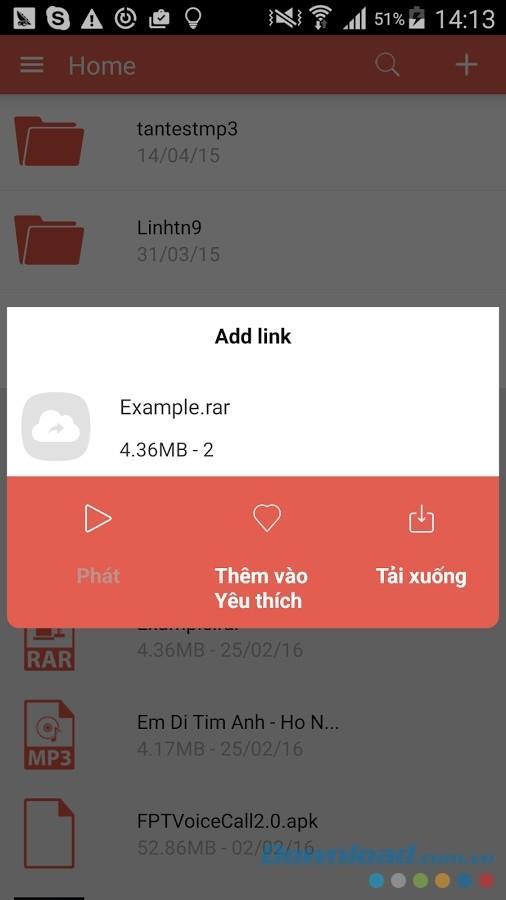 Fshare pour Android 2.2.2 - Service de stockage et de partage en ligne sur Android