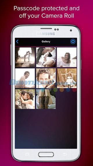 Hidely pour Android 1.0 - Logiciel sécurisé de capture, de stockage et de partage de photos sur Android