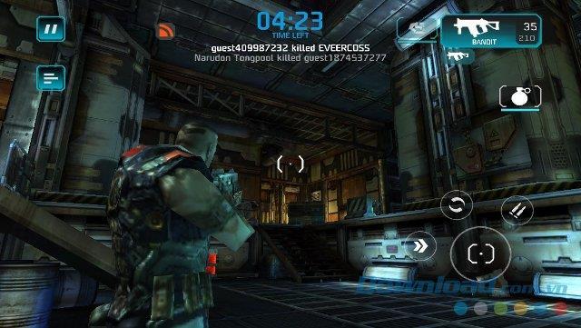 SHADOWGUN: DeadZone pour iOS 2.6.0 - Shooter TPS dramatique sur iPhone / iPad