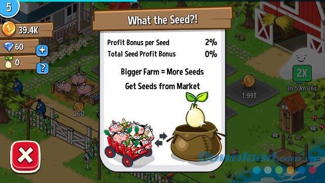 ファームアウェイ! iOS1.2用-iPhone / iPadの新しいスタイルのファームゲーム