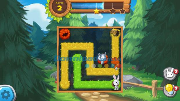 Forest Home for iOS 1.2-iPhone / iPadでのパズルアドベンチャーゲーム