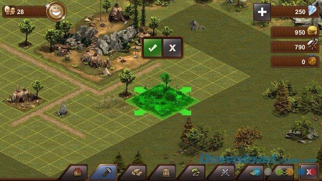 Forge of Empires pour iOS 1.62 - Game Empire présenté sur iPhone / iPad