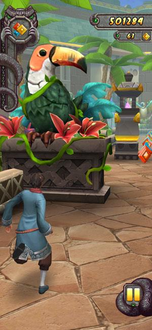 Temple Run 2 for iOS 1.69.1-iPhone / iPadでマスコット2を盗むゲーム