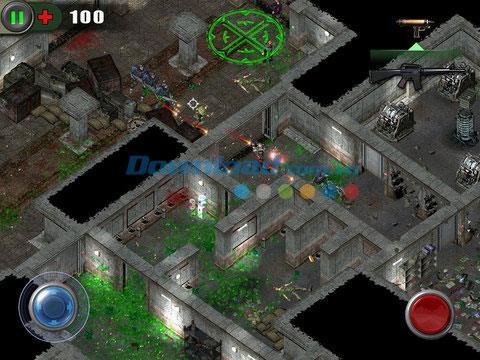 iOS2.0.0用ゾンビシューティングゲーム-iPhone / iPadでの無料ゾンビシューティングゲーム