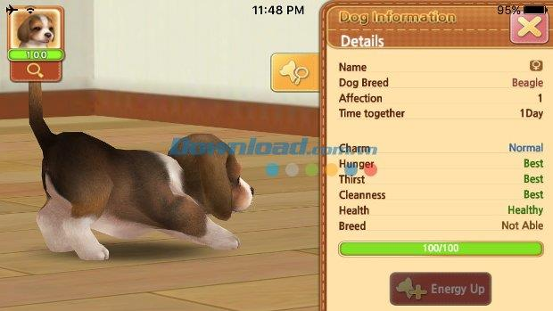 Mein erster Hund für iOS 1.0.1 - Haustierspiel auf iPhone / iPad