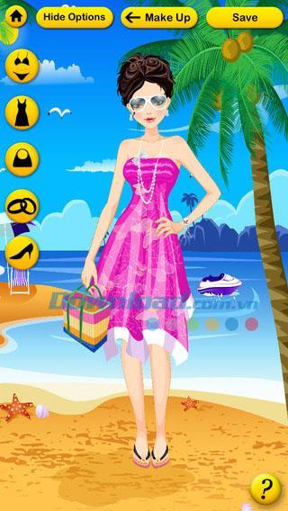 iOS4.9用の女の子のための無料メイク-iPhone / iPadでの女の子のメイクゲーム
