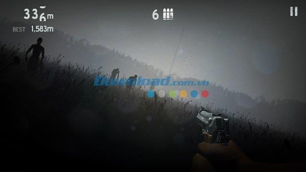 Into the Dead pour iOS 1.18.1 - Le jeu de tir d'horreur zombie sur iPhone / iPad