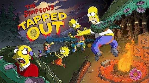 The Simpsons:iOS4.17.0用にタップアウト-iPhone / iPadでのシンプソン一家ゲーム