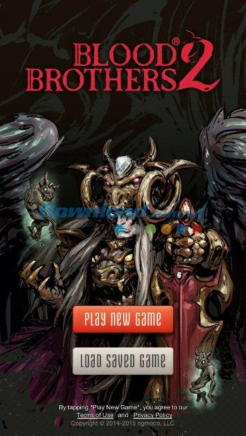 Blood Brothers 2 for iOS 3.0.1-iPhone / iPadでの戦略ロールプレイングゲーム