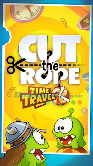 Cut the Rope: Zeitreise für iOS 1.9 - Game Cut the Rope - Zeitreise in die Vergangenheit