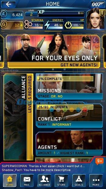 James Bond:iOS1.0.0のWorldof Espionage-iPhone / iPadでのゲーム007スパイ