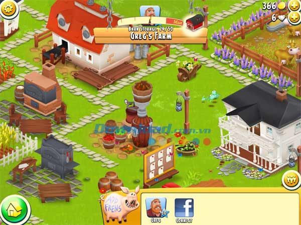 Hay Day pour iOS 1.40.98 - Jeu de ferme en ligne sur iPhone / iPad