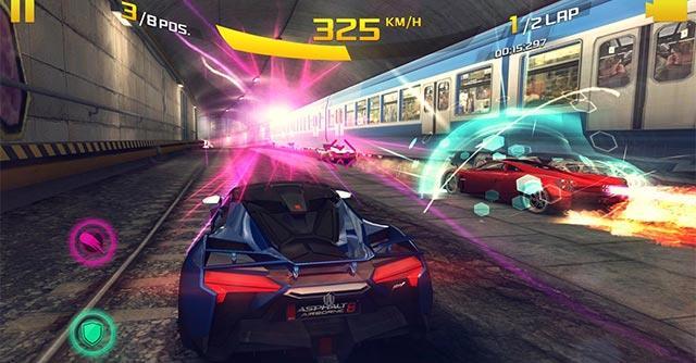 Asphalt 8:Airborne for iOS 5.4.0-iPhone / iPadでの究極のレーシングゲーム