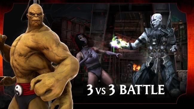 Mortal Kombat für iOS 2.6.0 - Spiel Black Dragon Fighter auf iPhone / iPad