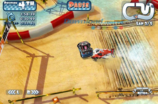 Mini Motor Racing HD Lite for iPad1.0.2-iPad上のミニレーシングゲーム