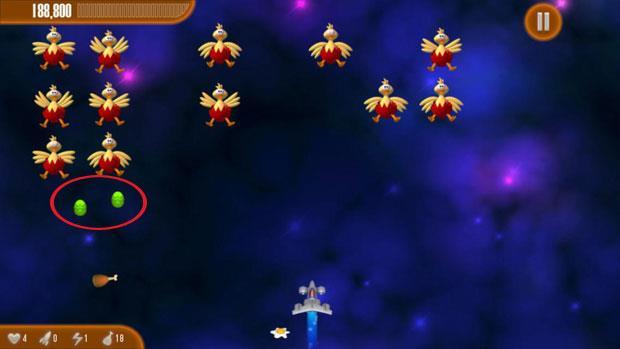 チキンインベーダー3イースターforiOS1.12-ゲームシュートチキン3-iPhone / iPadのイースターバージョン