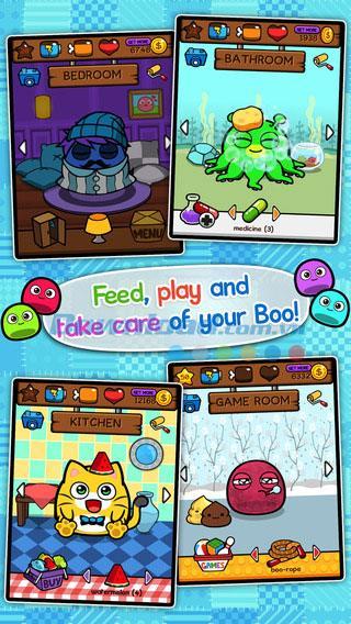 My Boo for iOS 1.16-iPhone / iPadでの仮想ペットゲーム