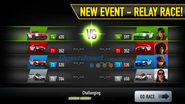 iOS3.0.0用のCSRRacing-iPhone / iPadでのストリートレーシングゲーム
