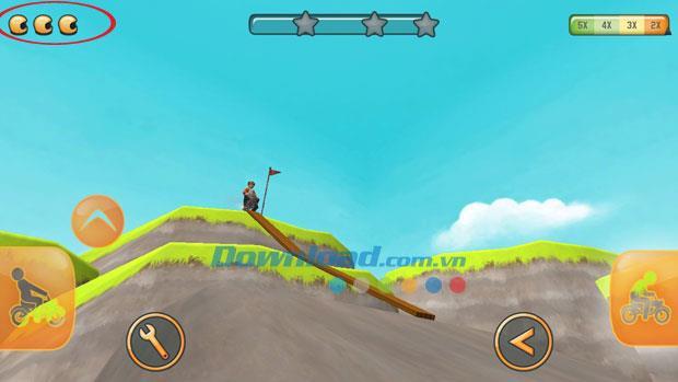 Fail Hard pour iOS 1.0.15 - Jeu de conduite de moto tout-terrain sur iPhone / iPad