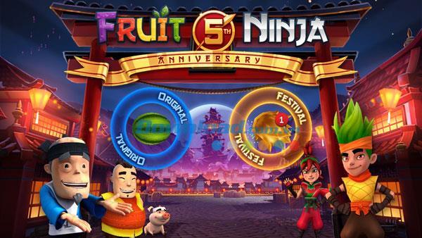 iOS2.4.4用のFruitNinja-iPhone / iPadでのフルーツスラッシュゲーム