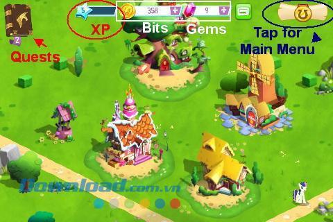 My Little Pony - L'amitié est magique pour iOS 3.4.0 - Jeu de poneys mignons