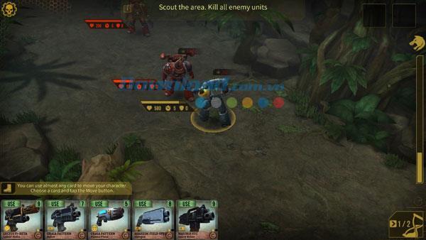 Warhammer 40,000:iOS1.1.1用のSpaceWolf-iPhone / iPadでのゲームの狼男戦士