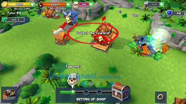 Raids of Glory pour iOS 1.50 - Jeu Pirate Empire sur iPhone / iPad