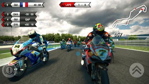 SBK15 für iOS 1.0 - Motorrad-Rennspiel mit hoher Verdrängung auf iPhone / iPad