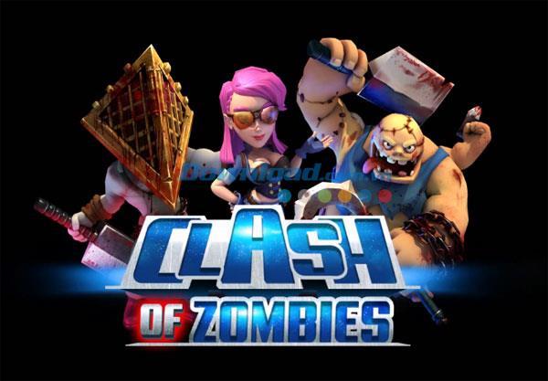 X-War:iOS4.7用のClashof Zombies-iPhone / iPadでのゲーム格闘ゾンビ