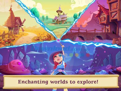 Bubble Witch 2 Saga für iOS 1.120.0 - Hexenschießspiel 2 auf iPhone / iPad