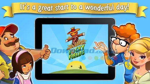 Lucky Fields pour iOS 1.0.44 - Jeu de ferme amusant sur iPhone / iPad