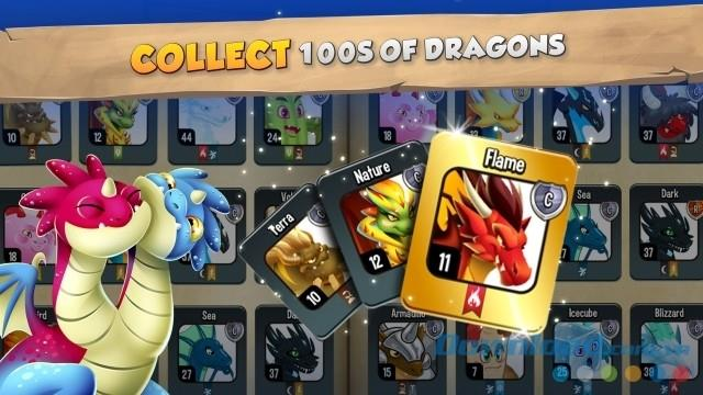 Dragon City für iOS 10.7.2 - Dragon City Building-Spiel auf iPhone / iPad