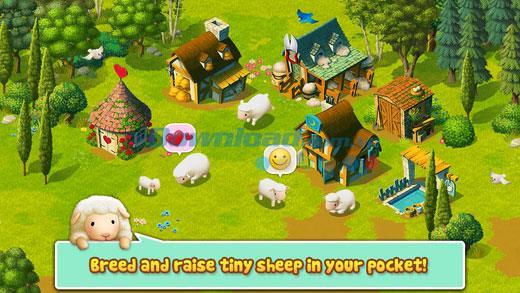iOS1.9.1用のTinySheep-iPhone / iPadでの羊牧場ゲーム