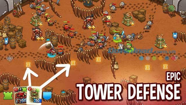 iOS1.5用のCrazyKings-iPhone / iPadでの防衛戦略ゲーム