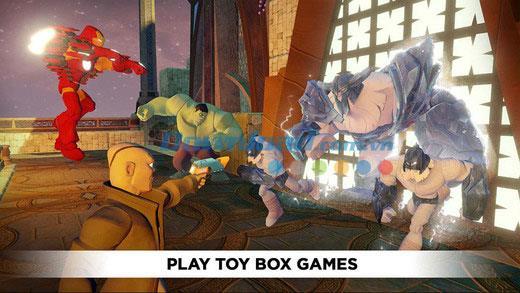 Disney Infinity:Toy Box 2.0 for iOS 1.3-iPhone / iPadでのアクションアドベンチャーゲーム
