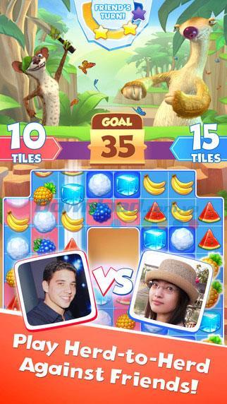 iOS1.0.4用のIceAge Avalanche-iPhone / iPadの新しいマッチ3ゲーム
