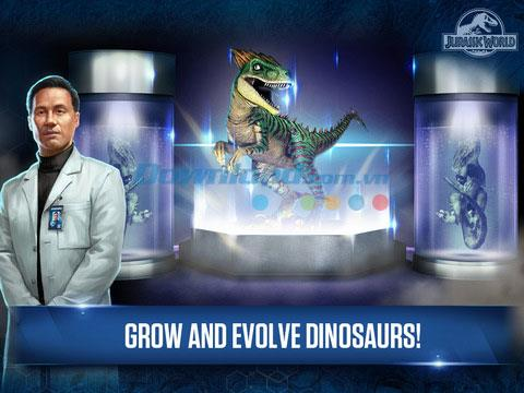 Jurassic World:The Game for iOS 1.15.5-iPhone / iPadの恐竜公園ゲーム