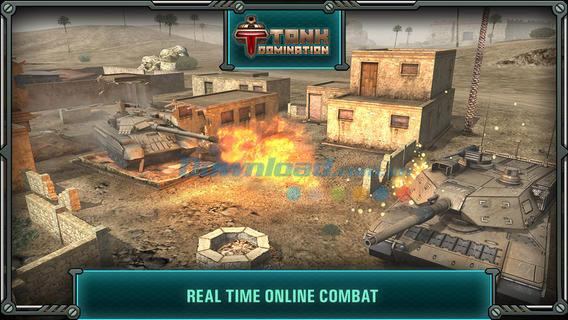 iOS1.11の戦車支配-iPhone / iPadでの無料の戦車射撃ゲーム
