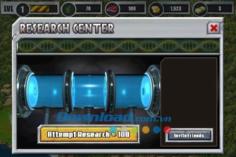 Jurassic Park Builder for iOS 4.9.0-iPhone / iPad上のJurassicParkBuilderゲーム