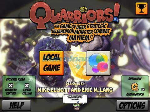Quarriors!  pour iPad 1.1.5 - Jeu de stratégie de cartes sur iPad