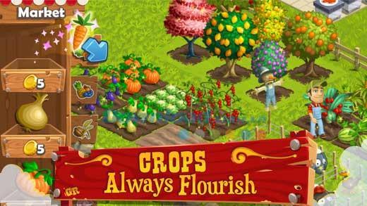 iOS1.8用グルメランチ-無料の農場とレストランの管理ゲーム