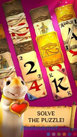 Pyramid Solitaire Saga für iOS 1.42.1 - Neues Solitaire-Kartenspiel für iPhone / iPad