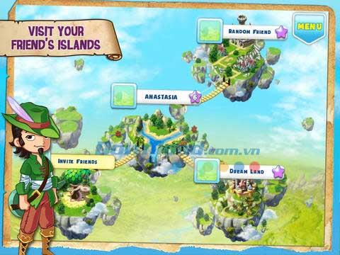 iOS1.8.1のファンタジータウン-iPhone / iPadのファンタジータウンゲーム