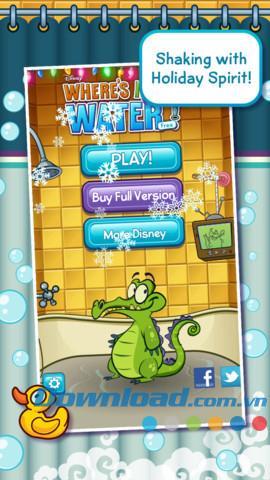 Où est mon eau?  pour iOS 1.16.0 - Jeu pour bain de crocodile sur iPhone / iPad