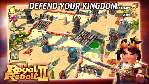 iOS5.2.0用RoyalRevolt 2-iPhone / iPadでのゴールキーパーロールプレイングゲーム