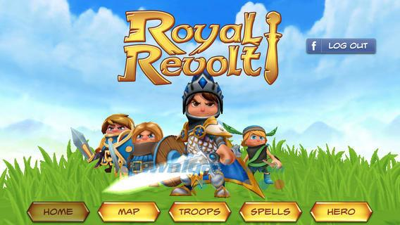 Royal Revolt for iOS 1.6.0-iPhone / iPadで無料の戦略ゲーム