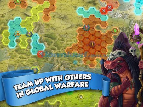 iOS1.6.0用のTinyRealms-iPhone / iPadでのリアルタイム戦略ゲーム