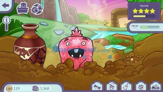 Monster Pet Shop pour iOS 1.3.2 - Gestion de jeu Monster Store sur iPhone / iPad