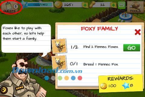 Wonder Zoo pour iOS 2.2.0 - Jeu de gestion de zoo sur iPhone / iPad